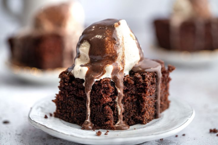 Gluten-free Hot Chocolate Sponge Pudding Recipe
