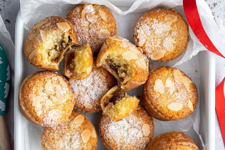 Gluten-free Frangipane-topped Mince Pies Recipe (dairy-free option)