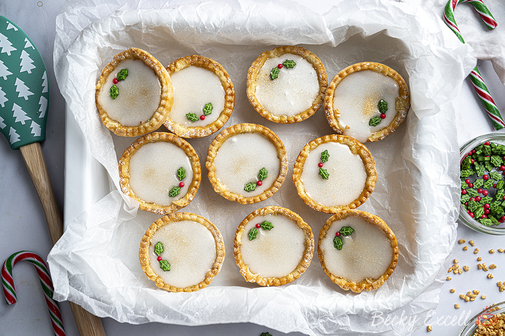 Gluten-free Iced Mince Pies Recipe (dairy-free option)