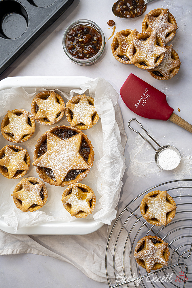 Gluten-free Mince Pies Recipe - BEST EVER! (dairy-free option)