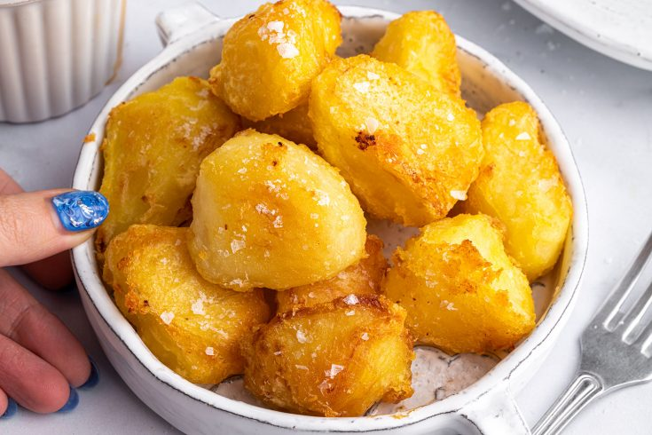 BEST EVER Super Crispy Roast Potatoes Recipe