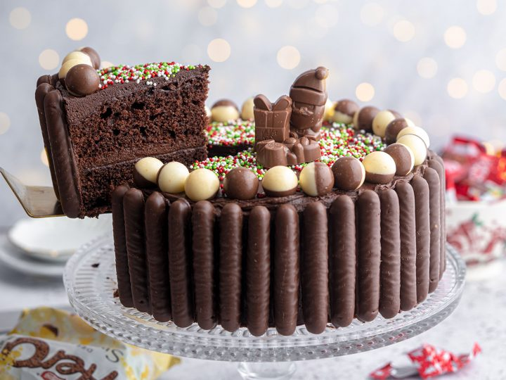 Gluten Free Christmas Chocolate Cake Recipe Dairy Free Option