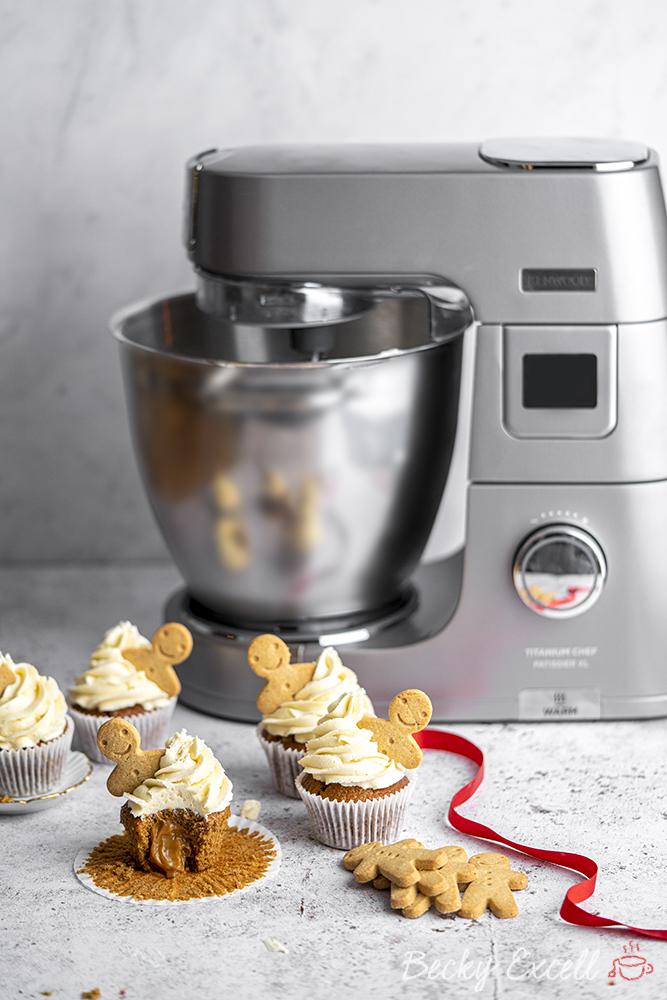 Gluten-free Gingerbread Cupcakes Recipe (dairy-free option)