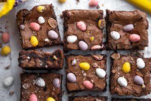 Mini Egg Brownies Recipe – Easter baking! (gluten-free)