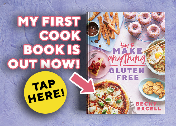 Tap here to buy my first ever gluten-free recipe book!