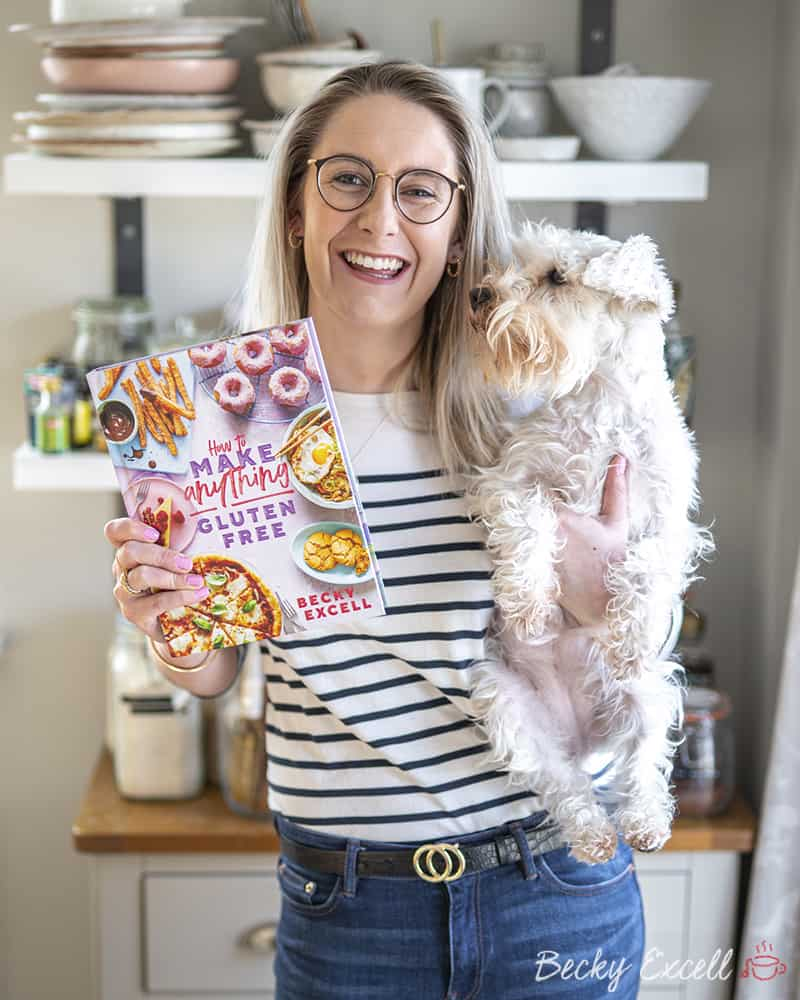 About Becky Excell | Author, Food Writer and Gluten-free Recipe Creator