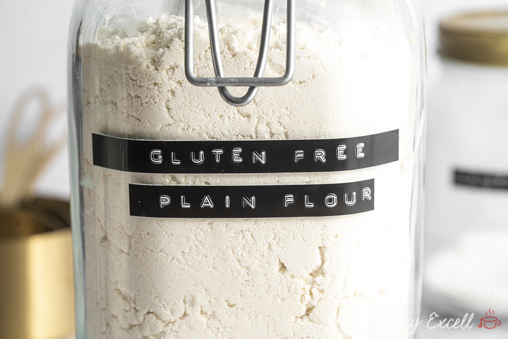 Gluten-free Flour Recipe - BEST EVER! Plain (All-purpose) or Self-raising (rising) Blend