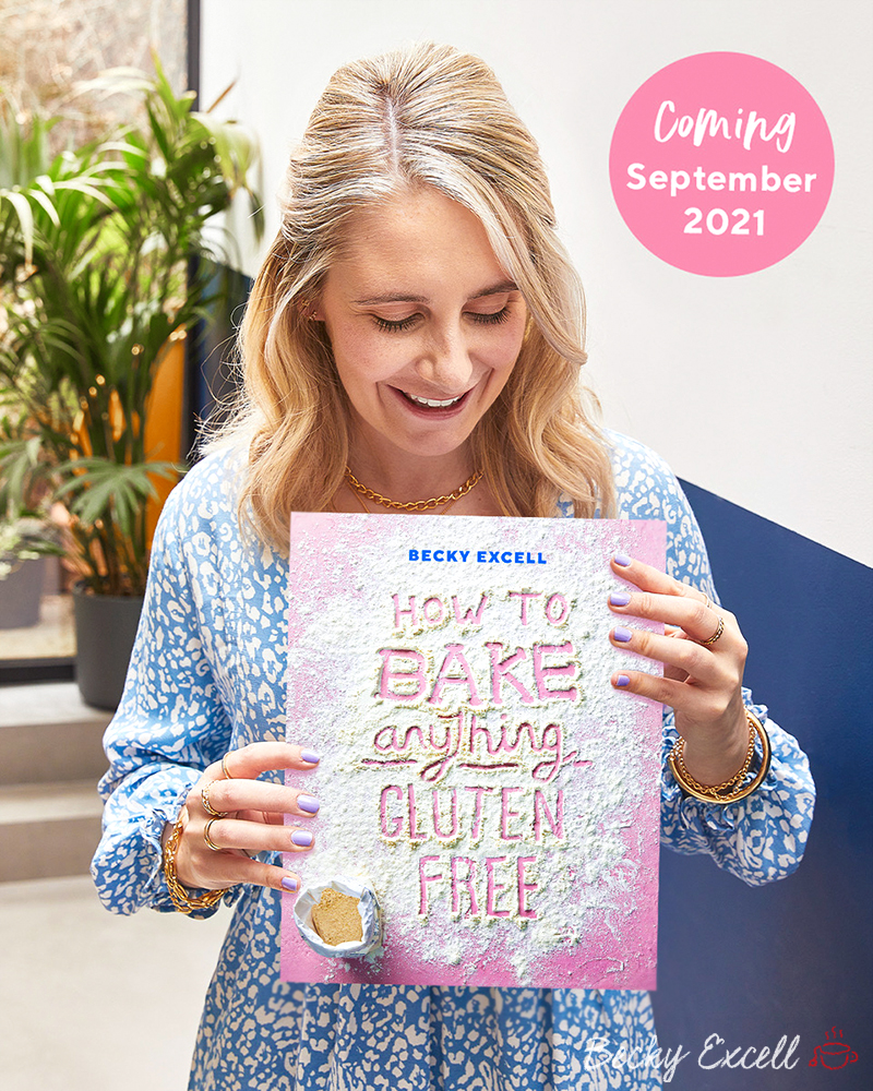 'How To BAKE Anything Gluten-free', Gluten-Free Baking Cookbook by Becky Excell