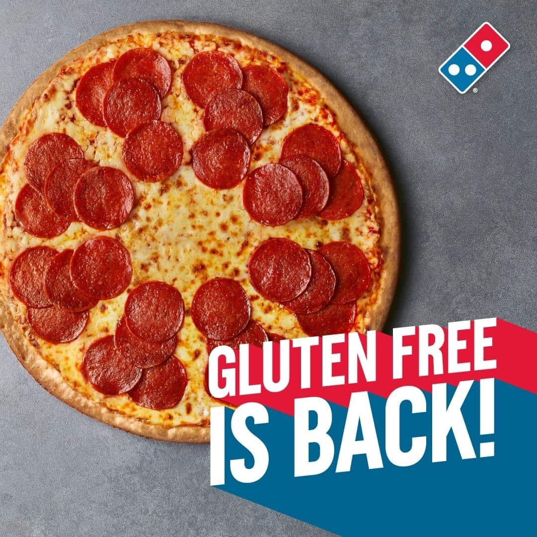 Everything you NEED to know about the NEW Domino's gluten-free pizza 2021