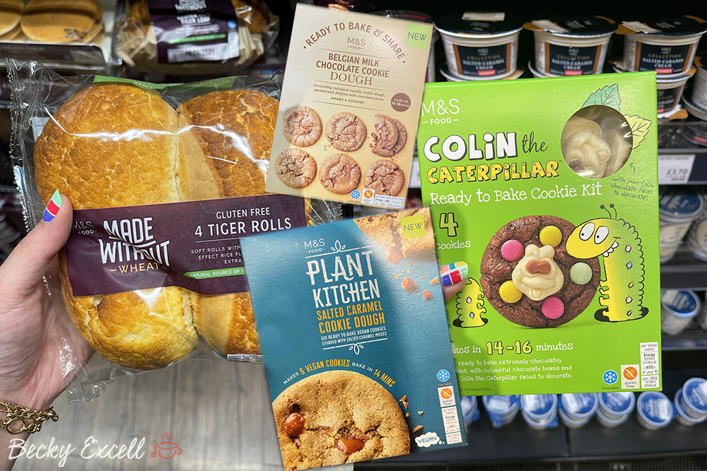 11 NEW products in Marks and Spencer's gluten-free range 2021