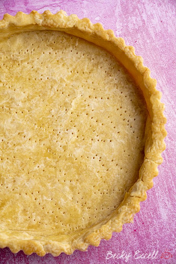 Gluten-free Shortcrust Pastry Recipe (low FODMAP + dairy-free option)