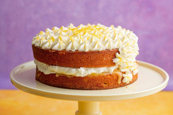 Gluten-free Lemon and Elderflower Cake Recipe